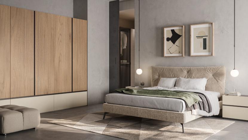 Camera da letto matrimoniale - Pensarecasa Parma